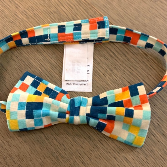 Zutano Other - Zutano multi-colored checkered Bow Tie for kids-OS